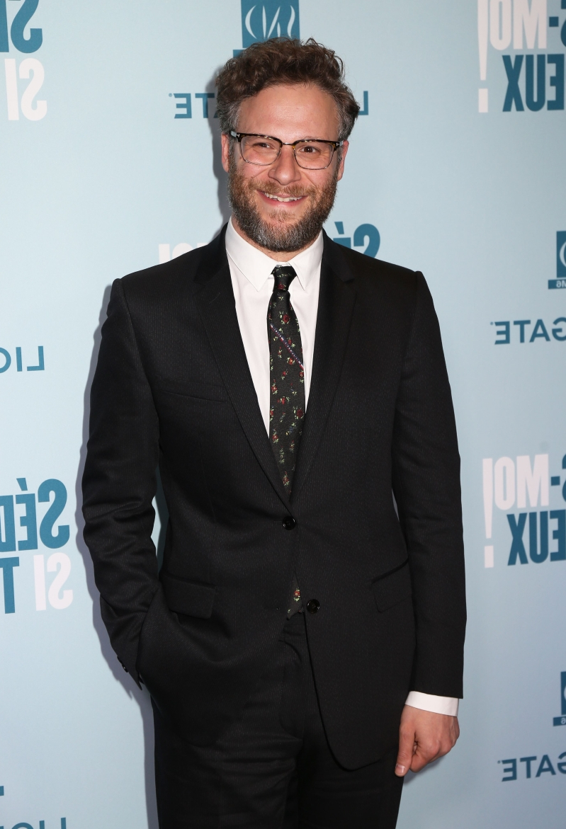 Fans marvel at 'sexy' and 'hot' Seth Rogen in magazine spread