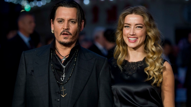 Entertainment: Johnny Depp accuses Amber Heard of ...