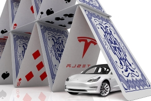 Tesla's demise could bring down the whole 'house of cards,' warns strategist