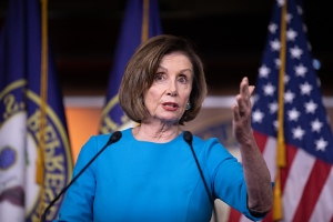 U.S. House's Pelosi: Trump is engaged in 'cover-up'