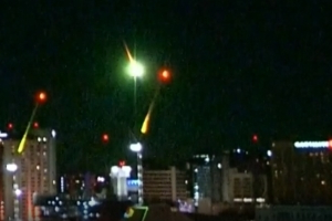 Did you see the Melbourne meteor?