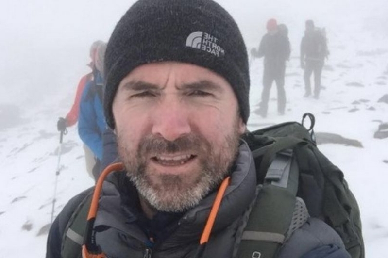Search resumes for Trinity College professor Seamus Lawless who is missing on Mount Everest