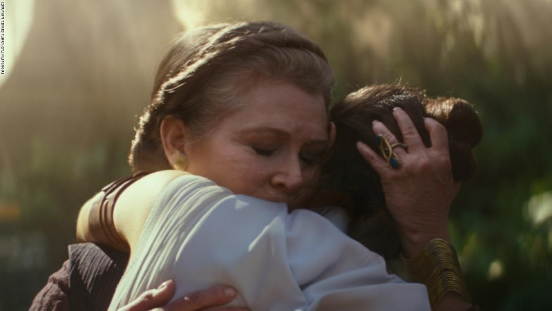 'Star Wars: The Rise of Skywalker' will use old footage of Carrie Fisher