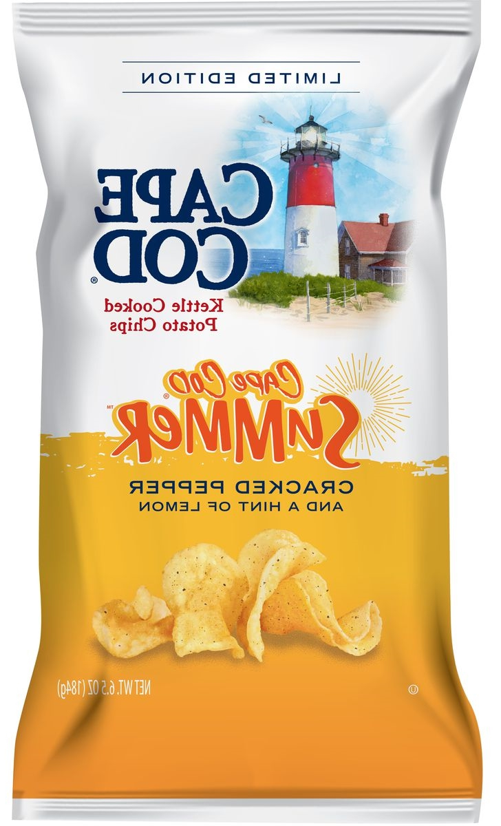 We'll Be Eating Cape Cod's New Cracked Pepper And Lemon Chips All Summer Long