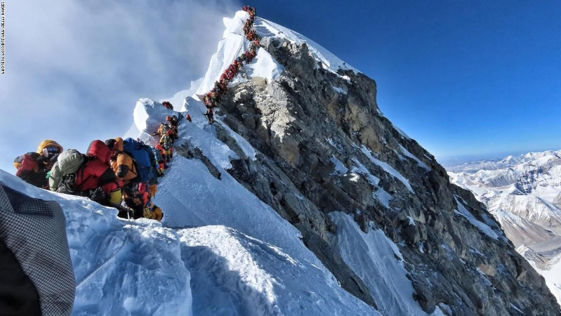 Travel: Everest traffic jam creates lethal conditions for ...