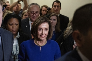 Faked Pelosi videos, slowed to make her appear drunk, spread across social media