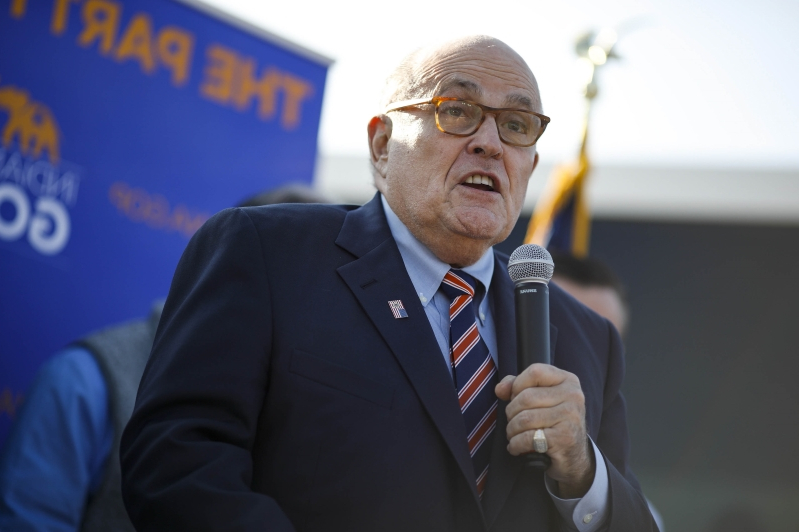 Giuliani appears to defend sharing a doctored Pelosi video