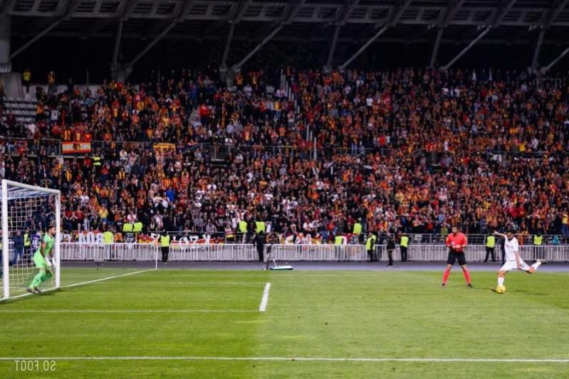 Plus de 3000 supporters lensois à Troyes