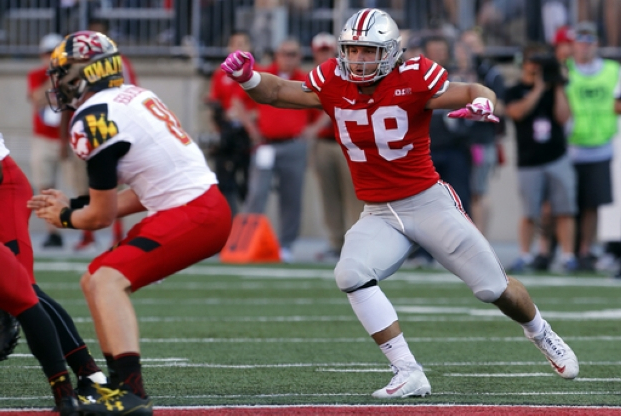 e7618d5d15b Sport: Family tradition: Chargers' Bosa switches to familiar No. 97 ...