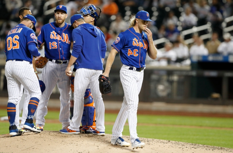 Noah Syndergaard's inconsistency continues to baffle Mets