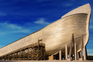 Owners of Noah's Ark replica sue insurers over rain damage