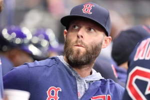 Pedroia suffers setback in rehab game