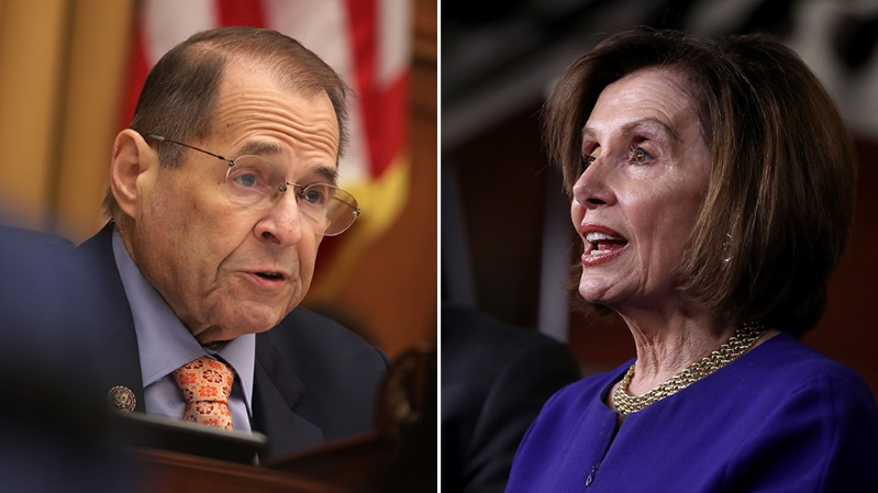 Pelosi, Nadler tangle on impeachment, contempt vote