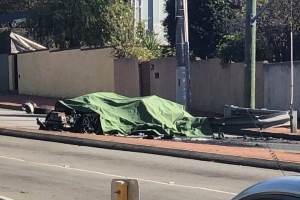 Stolen Ferrari crashes and erupts in flames in North Perth, killing one person