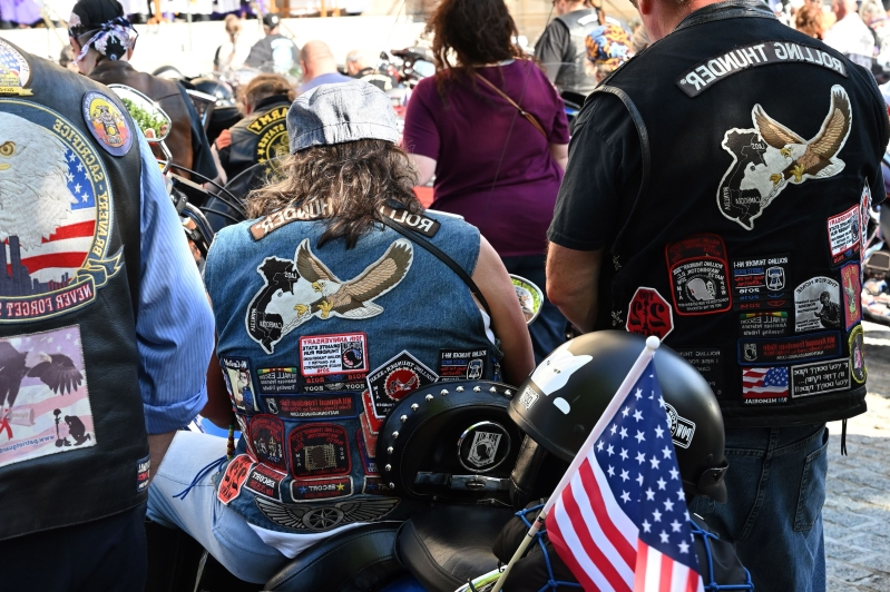 Trump offers to help Rolling Thunder with D.C. motorcycle ride