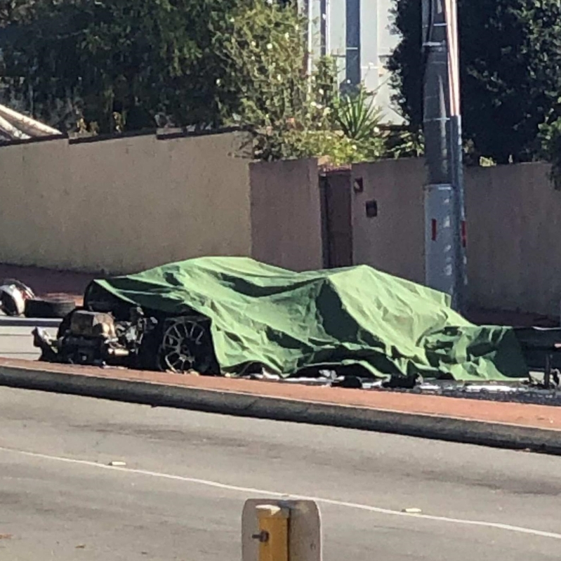 Australia: Stolen Ferrari crash in North Perth ends with alleged