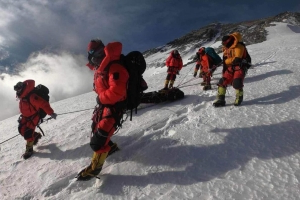 Australian climber recovering in Nepalese hospital after being rescued on Mount Everest