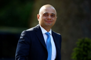 British interior minister Javid launches leadership bid to replace PM May