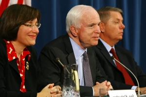 Amy Klobuchar says she has 'deep respect' for McCain family