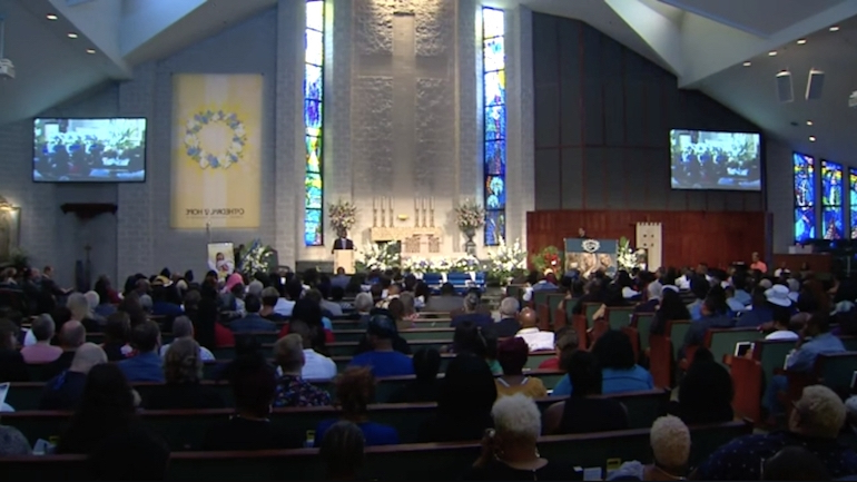 Funeral Held In Dallas For Murdered Transgender Woman Muhlaysia Booker