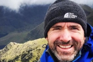 'Love doesn't die because life is extinguished' - priest's comfort to family at memorial of Mount Everest climber Seamus Lawless