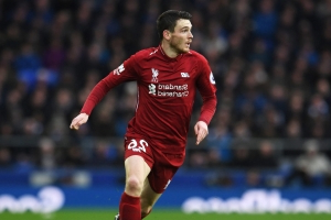 Andy Robertson willing to end his career with Liverpool