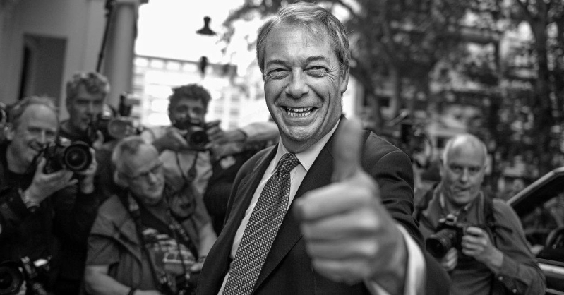 Comment: Nigel Farage Is the Most Dangerous Man in Britain