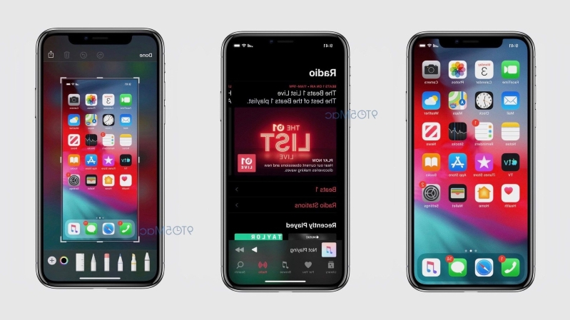 Leaked iOS 13 screenshots reveal new dark mode and updated apps
