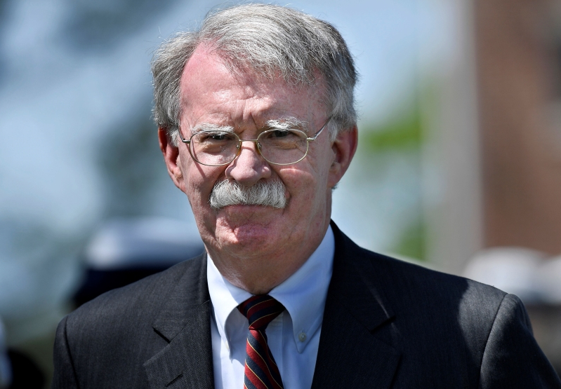 US national security adviser in UAE amid tensions with Iran