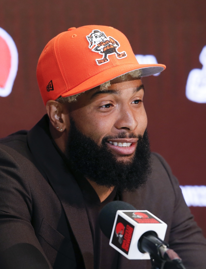 Freddie Kitchens: Odell Beckham missing 'a lot – the offense' at OTAs