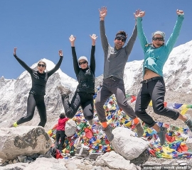 Mandy Moore arrives at Mount Everest base camp... as an 11th person this season dies attempting to reach the peak