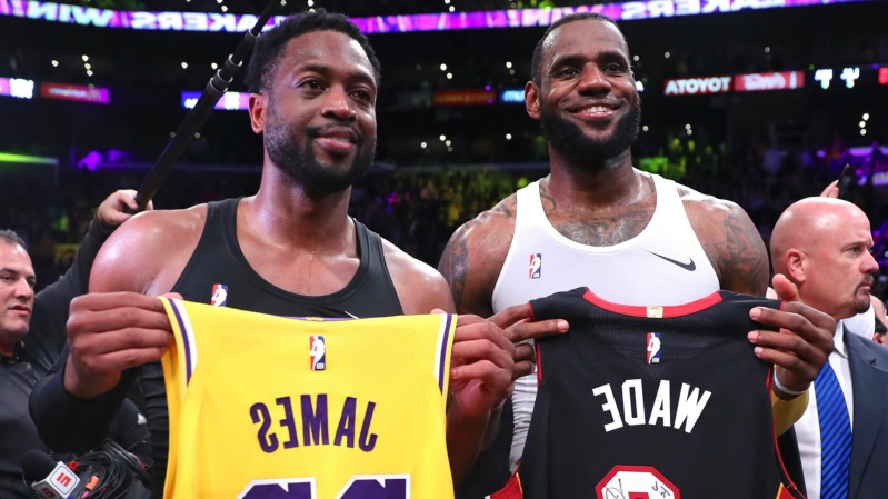 Sport: Sons of LeBron James, Dwyane Wade teaming up in high school
