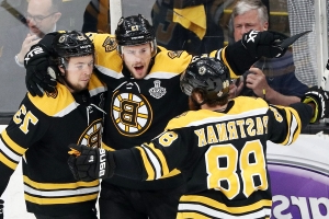 Stanley Cup Final: Bruins had six men on the ice on first goal of Game 2
