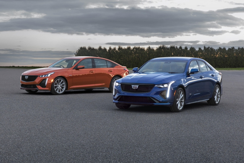 News 2020 Cadillac Ct4 V And Ct5 V Get Uncovered In Detroit