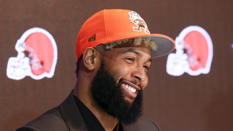Browns receivers coach believes Odell Beckham's best yet to come