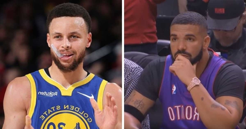 Drake Got Caught Hiding His Golden State Warrior Tattoos At The Raptors Final Game Tonight (PHOTOS)
