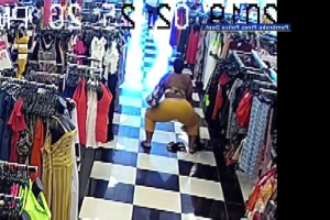 Florida Woman Caught On Camera Twerking In Clothing Store While Shoplifting