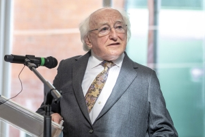 Higgins makes rallying call on climate