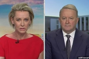 'Watch your back': Deb Knight warns Anthony Albanese that the 'ghost' of Shorten may haunt him - after Bill gave a 'pathetic' excuse for losing the election and 'threatened to run to lead the party again'