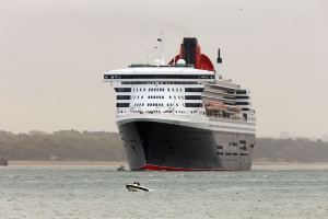 Woman airlifted to hospital from luxury cruise liner off south coast