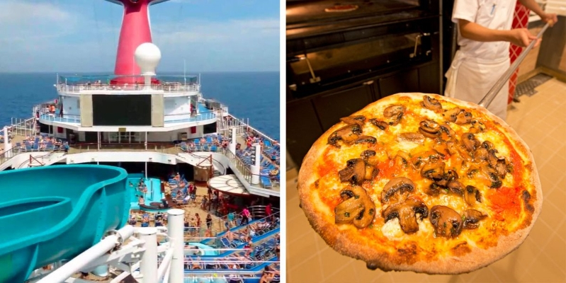 Carnival Cruise Line Will Deliver Beer And Pizza To You Anywhere On Its Ships