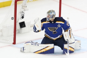 Stanley Cup Final 2019: Blues' Jordan Binnington benched for first time in playoffs