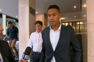 'You'll go to hell': Israel Folau's Wallabies career ended amid dad's intervention, says report