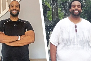 A Ridiculously Simple Diet Plan Helped This Man Lose 110 Pounds in Under a Year