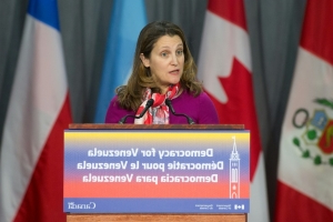 Canada suspends operations at embassy in Venezuela