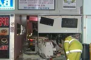 Elderly man loses control of car, crashes into nail salon in Maylands