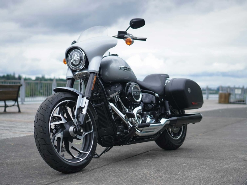 Making The 2019 Harley-Davidson Sport Glide More Tour-Friendly