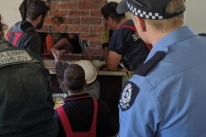 Painstaking operation to rescue young boy stuck in Katanning chimney a success