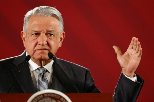 Support for Mexican president grows after Trump tariff threat