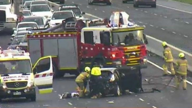 Australia: Woman fighting for life after Monash Freeway